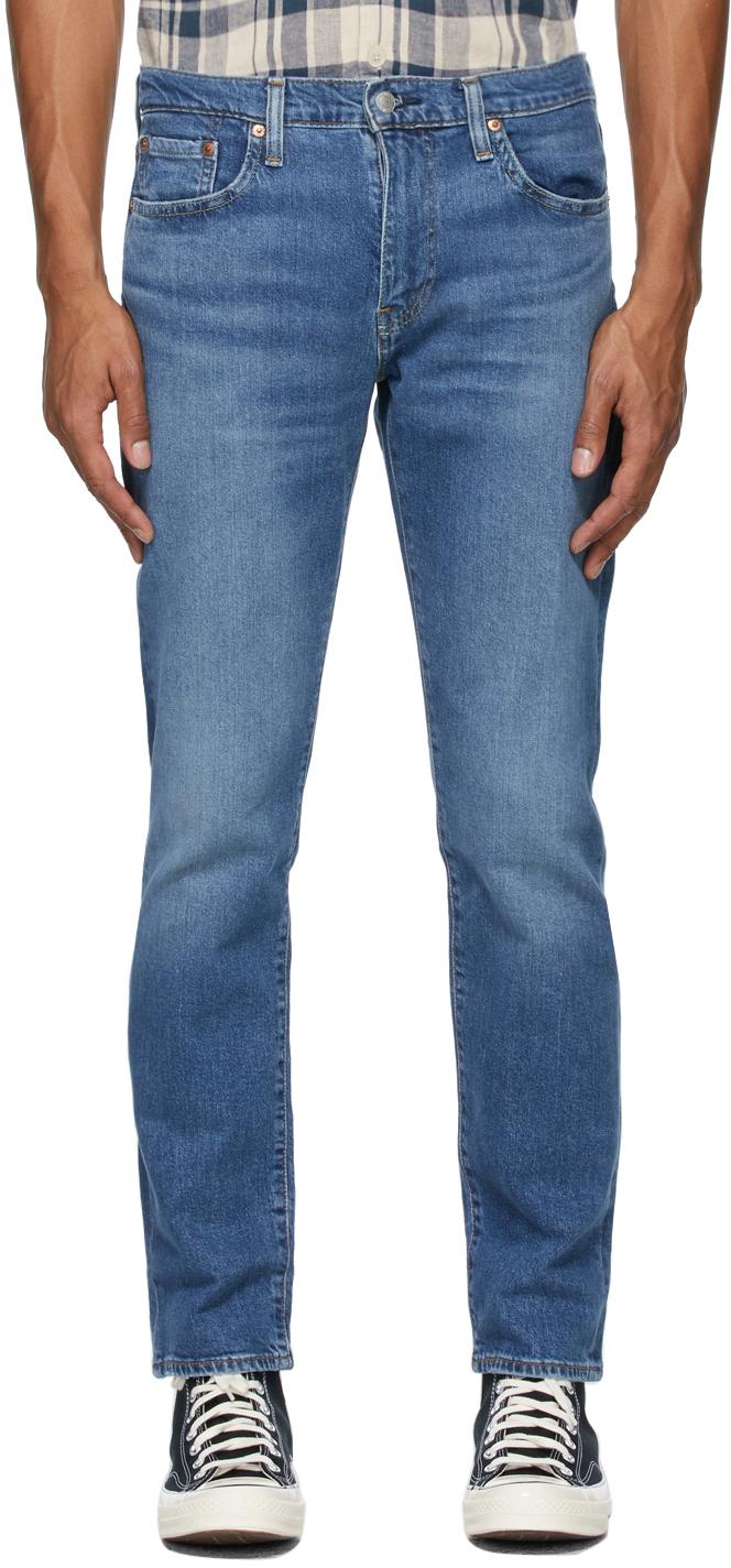 Levi's Blue 502 Taper Jeans