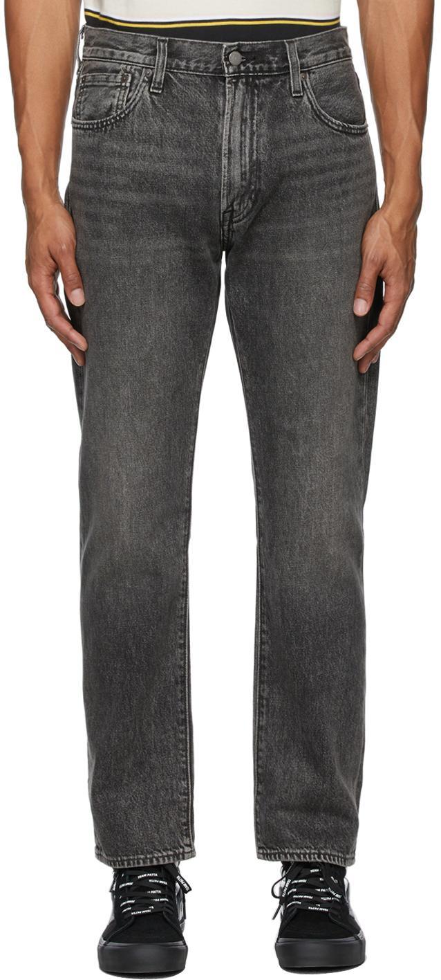 Levi's Black 551 Z Authentic Straight Jeans