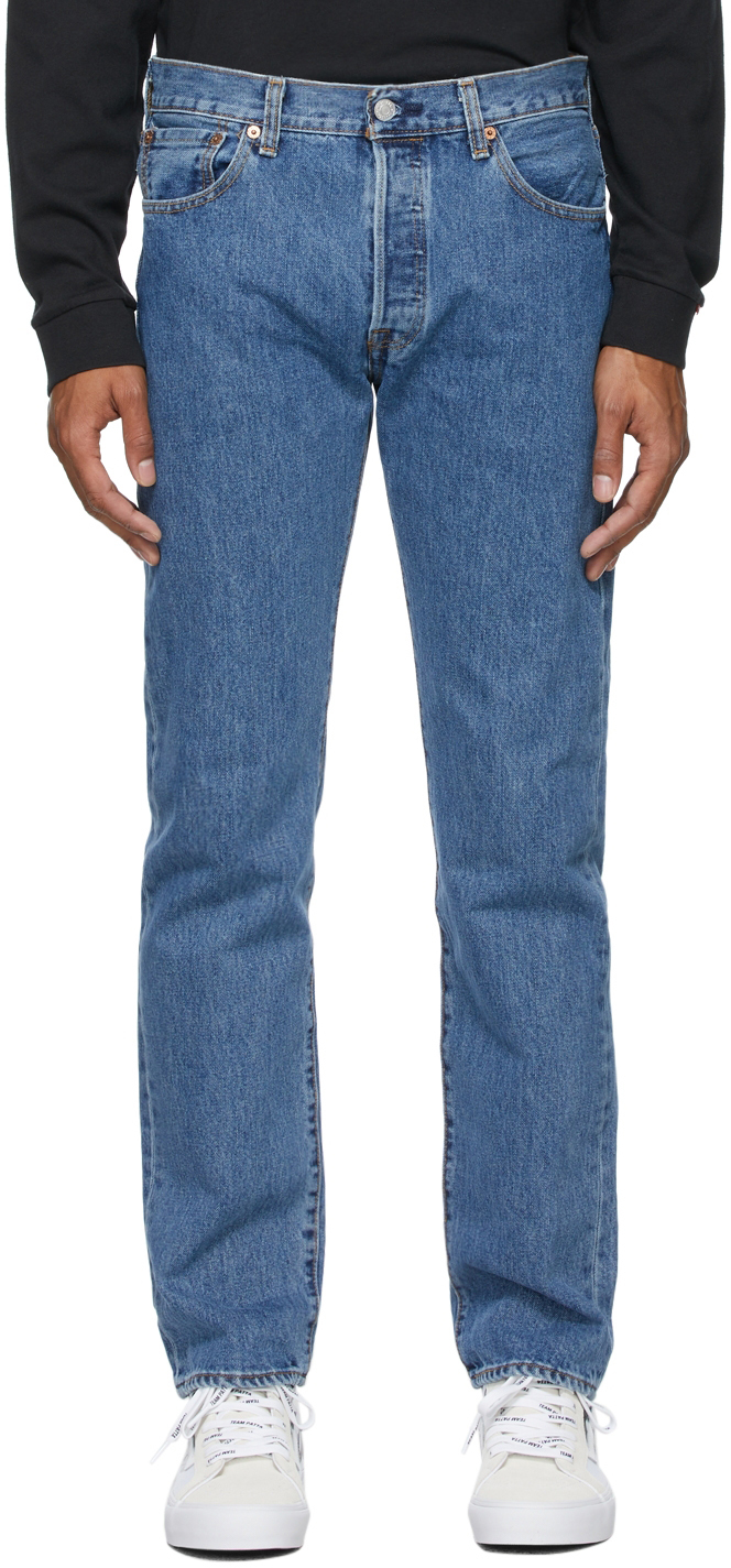 Levi's Blue 501 Original Jeans