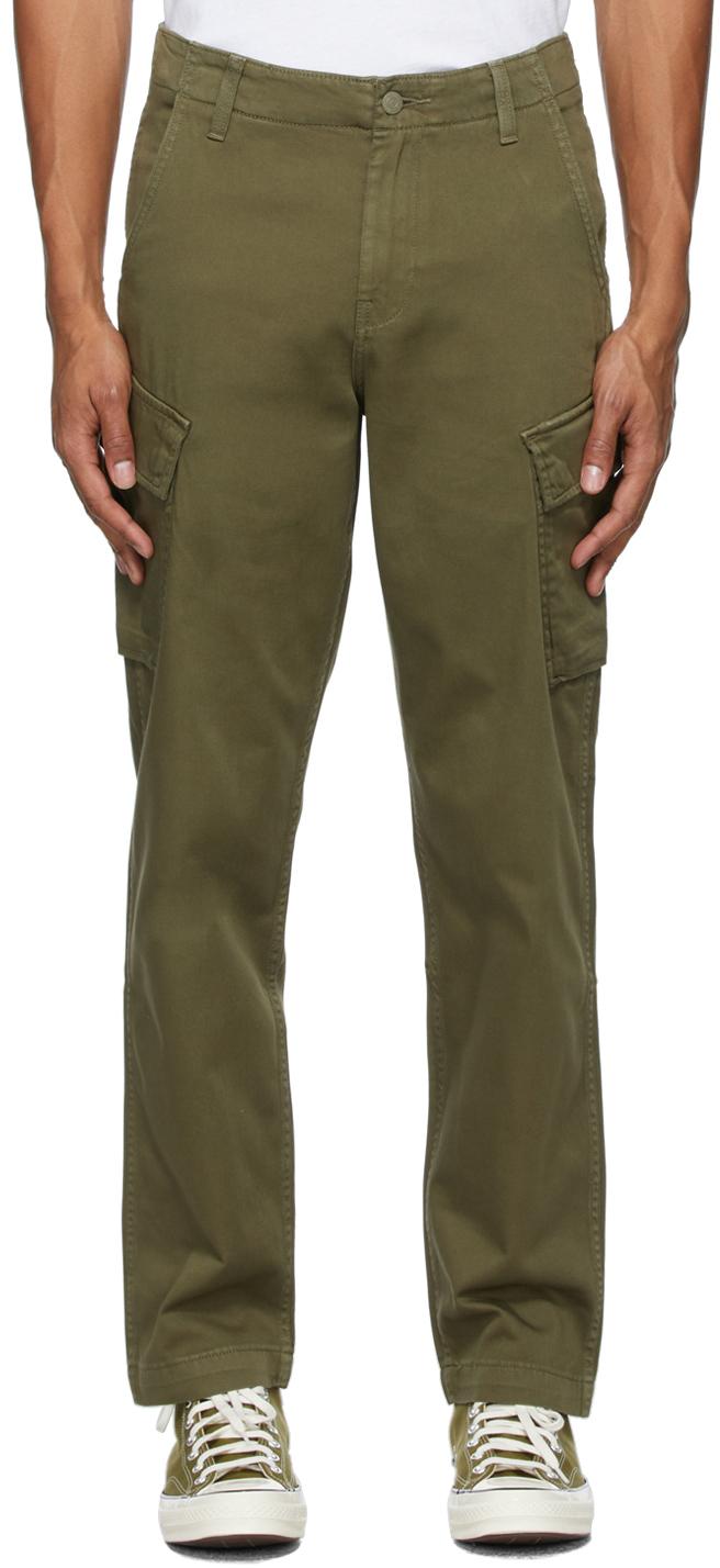 Levi's Green Taper XX Cargo Pants