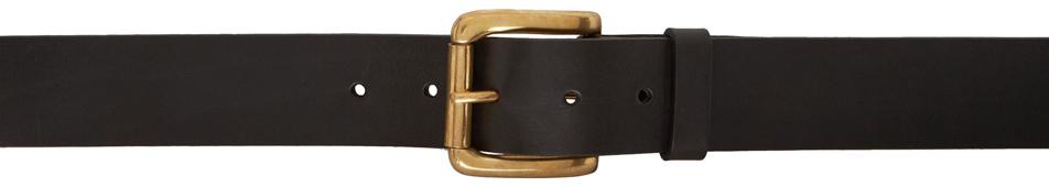 Black Collage Belt