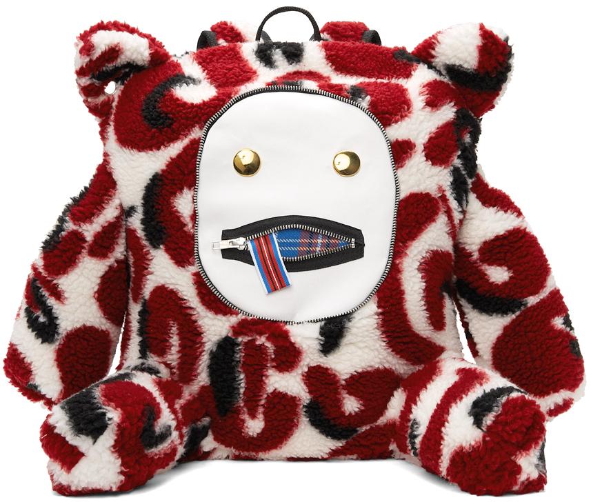 Faux-Fur Gromlin Rucksack Backpack