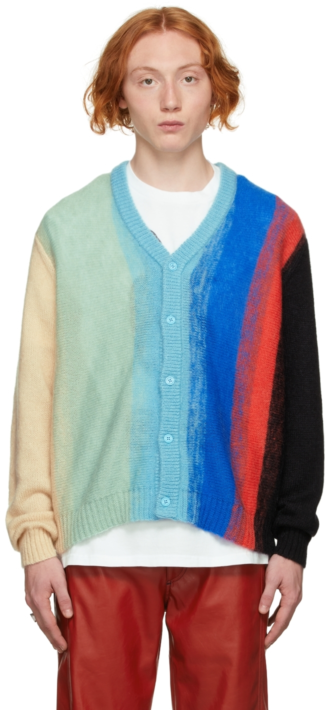 Multicolor Mohair Homefront Cardigan