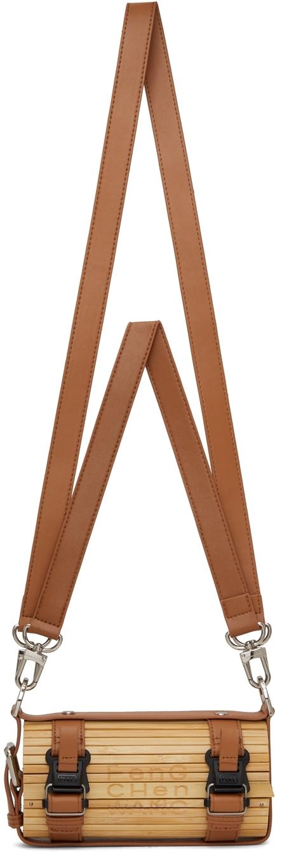 Brown Mini Bamboo Bag