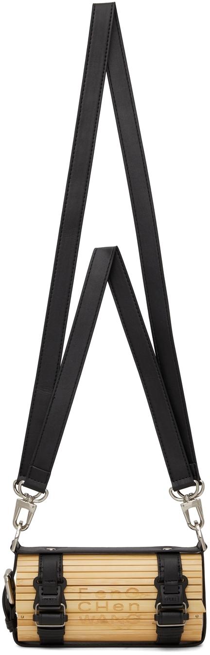 Black Mini Bamboo Bag