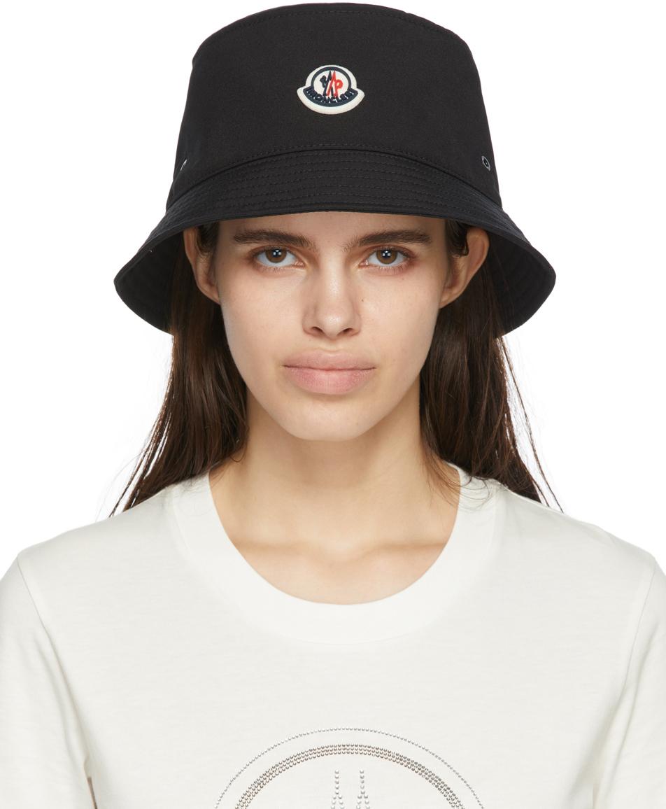 Black Logo Bucket Hat