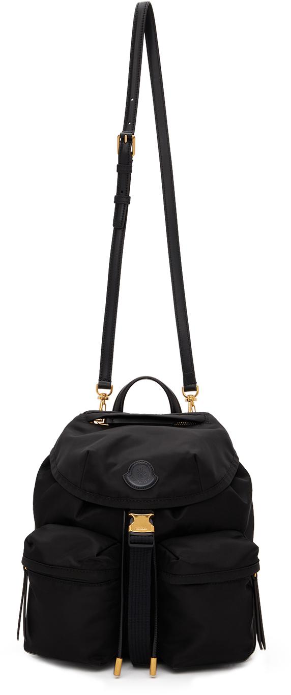 Black Dauphine Backpack