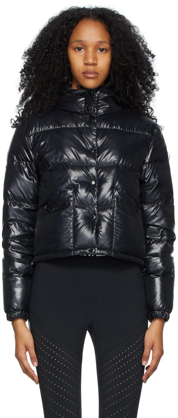 Moncler Black Down Bardanette Jacket