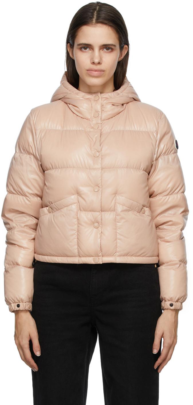 Moncler Pink Down Bardanette Jacket