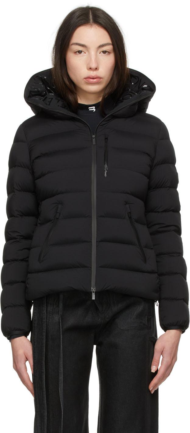 Moncler Black Matt Black Down Herbe Jacket