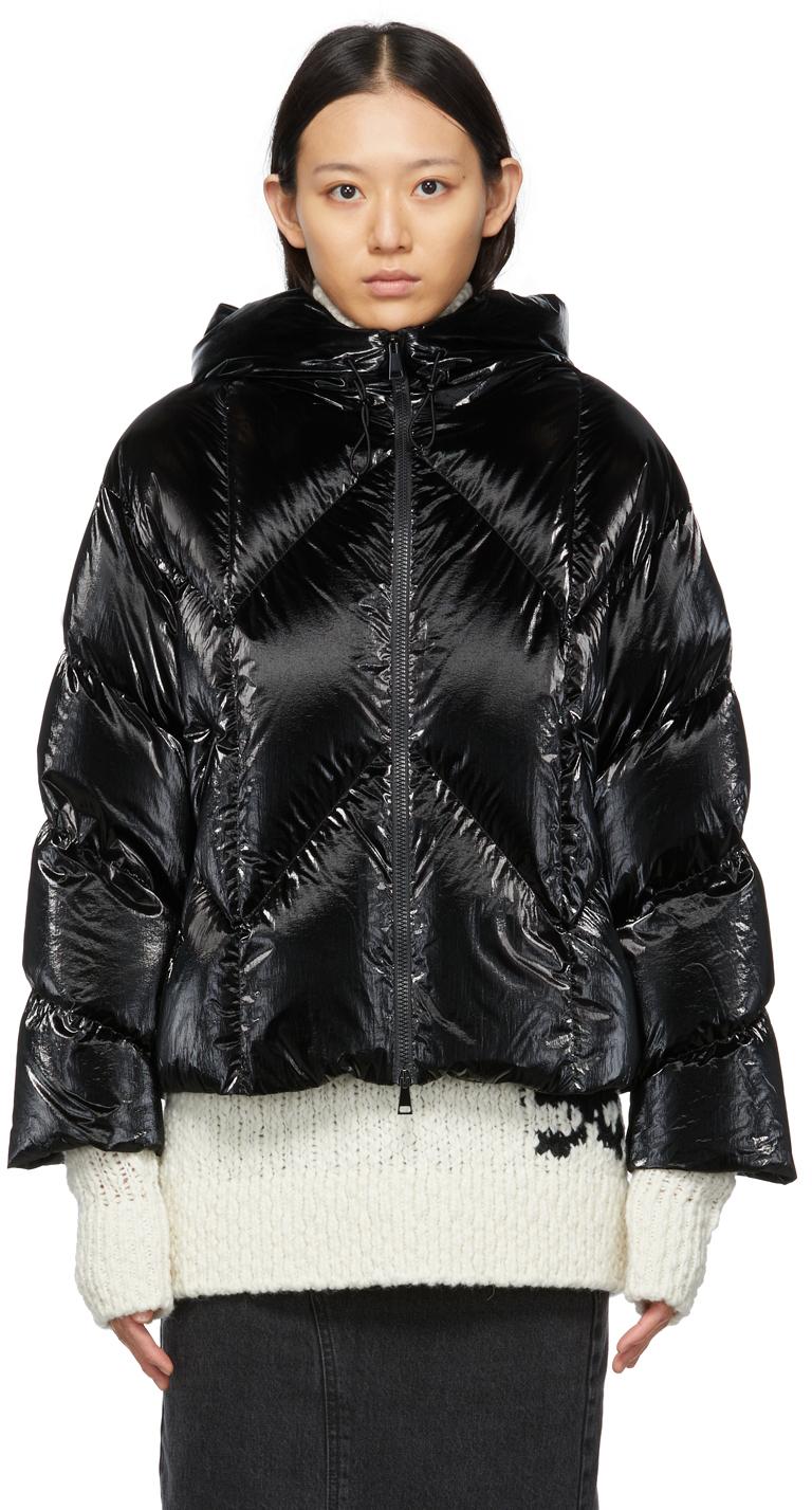 Moncler SSENSE Exclusive Black Down Frele Jacket