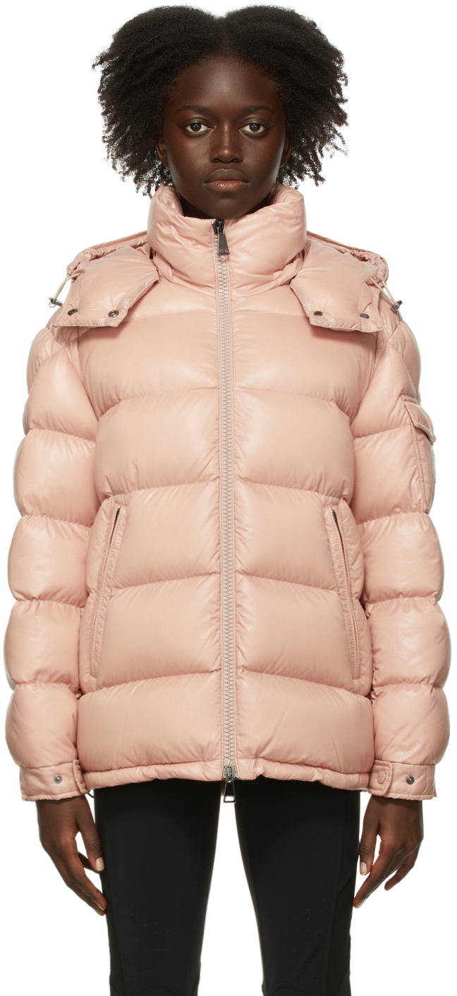 Pink Down Maire Jacket