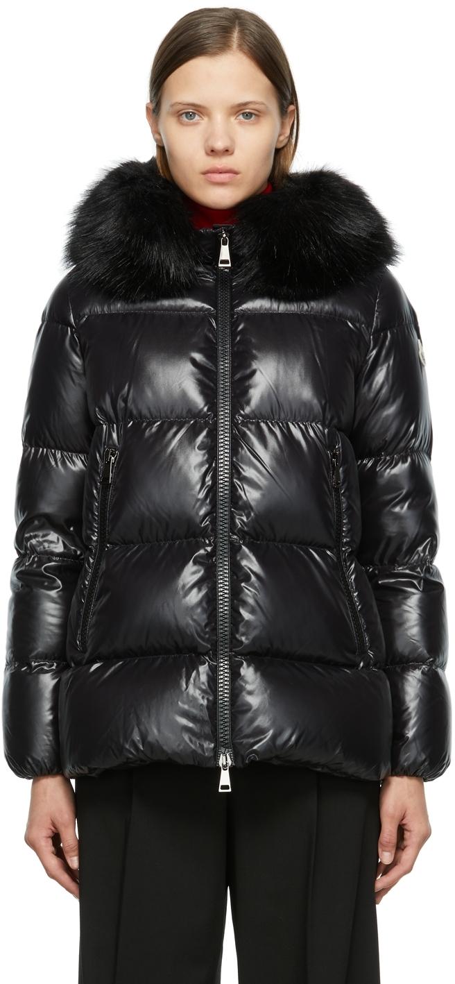 Moncler Black Down Laiche Jacket