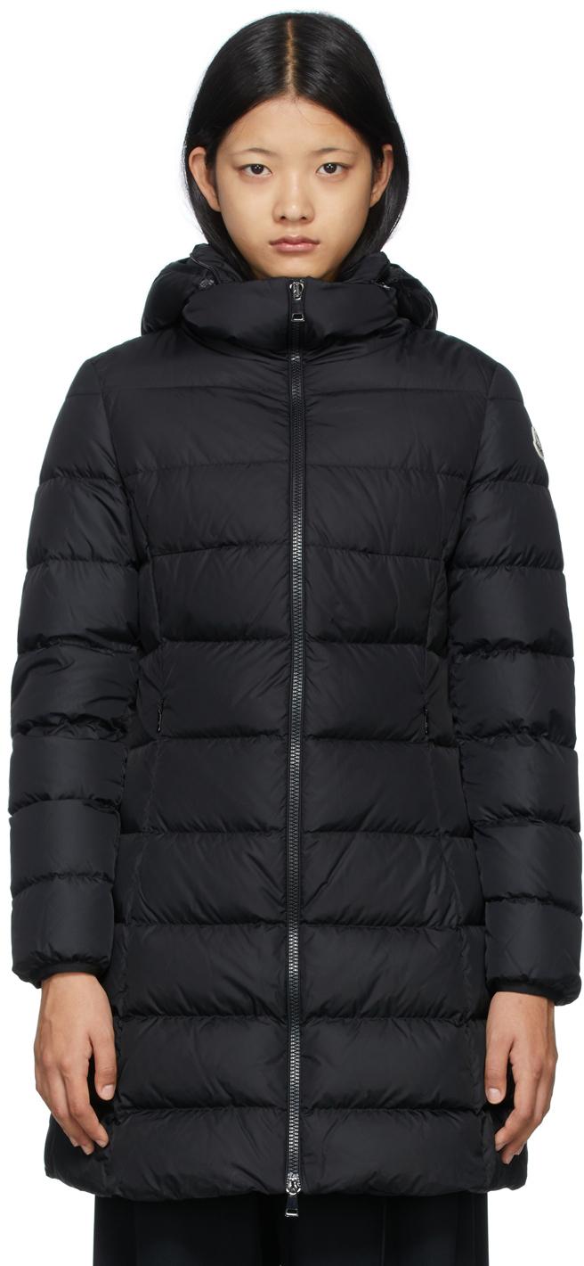 Black Down Long Gie Coat