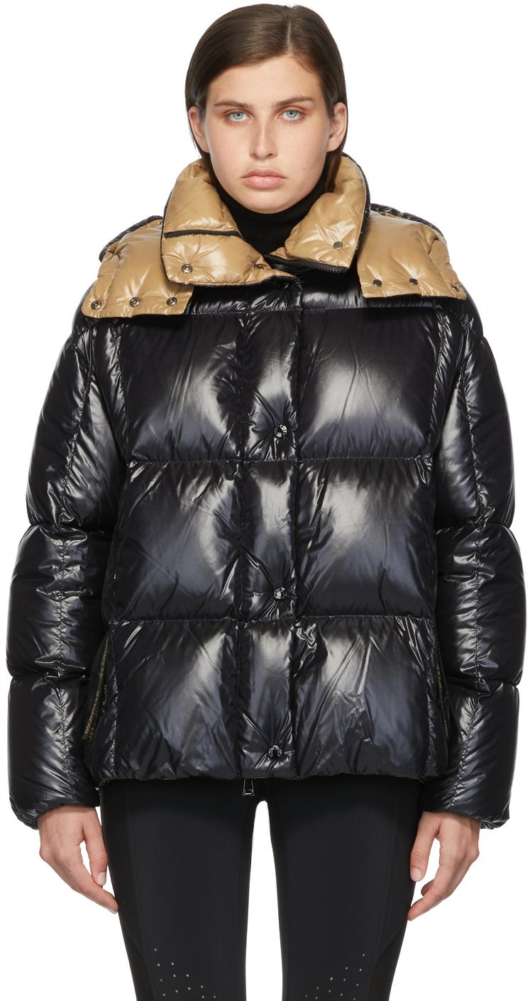Moncler Black Down Parana Jacket