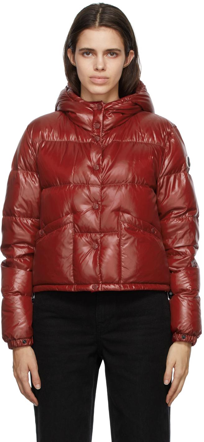 Moncler Red Down Bardanette Jacket