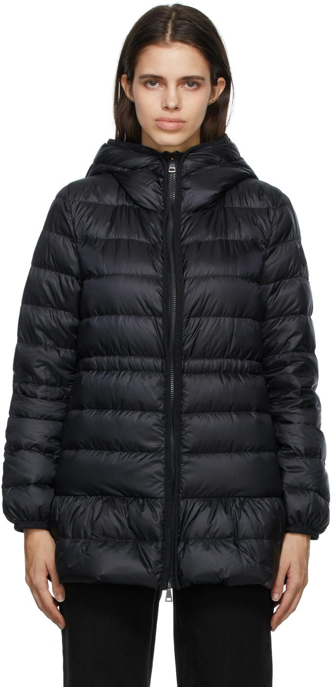 Moncler Black Down Bunium Jacket
