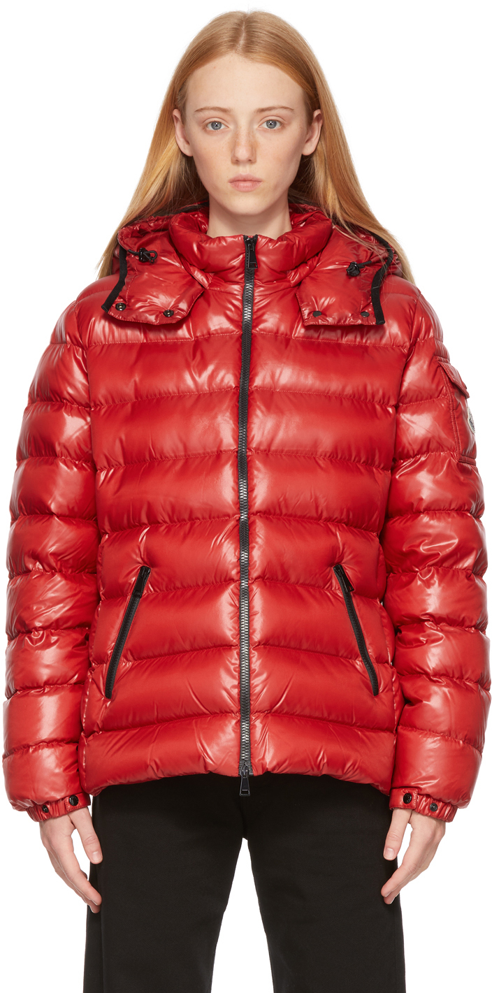 Moncler SSENSE Exclusive Red Down Bady Jacket