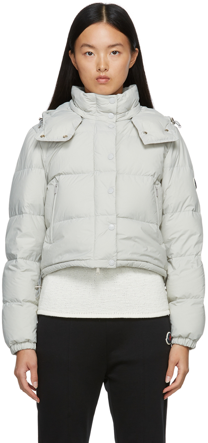Moncler Grey Down Avione Jacket