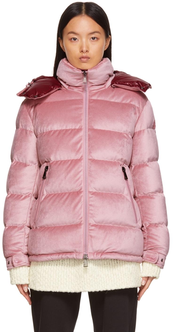 Moncler Down Velvet Holostee Jacket