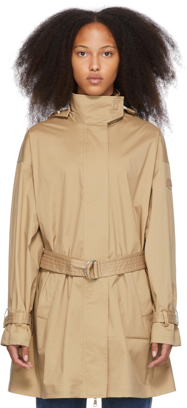 Moncler Beige Crepide Jacket