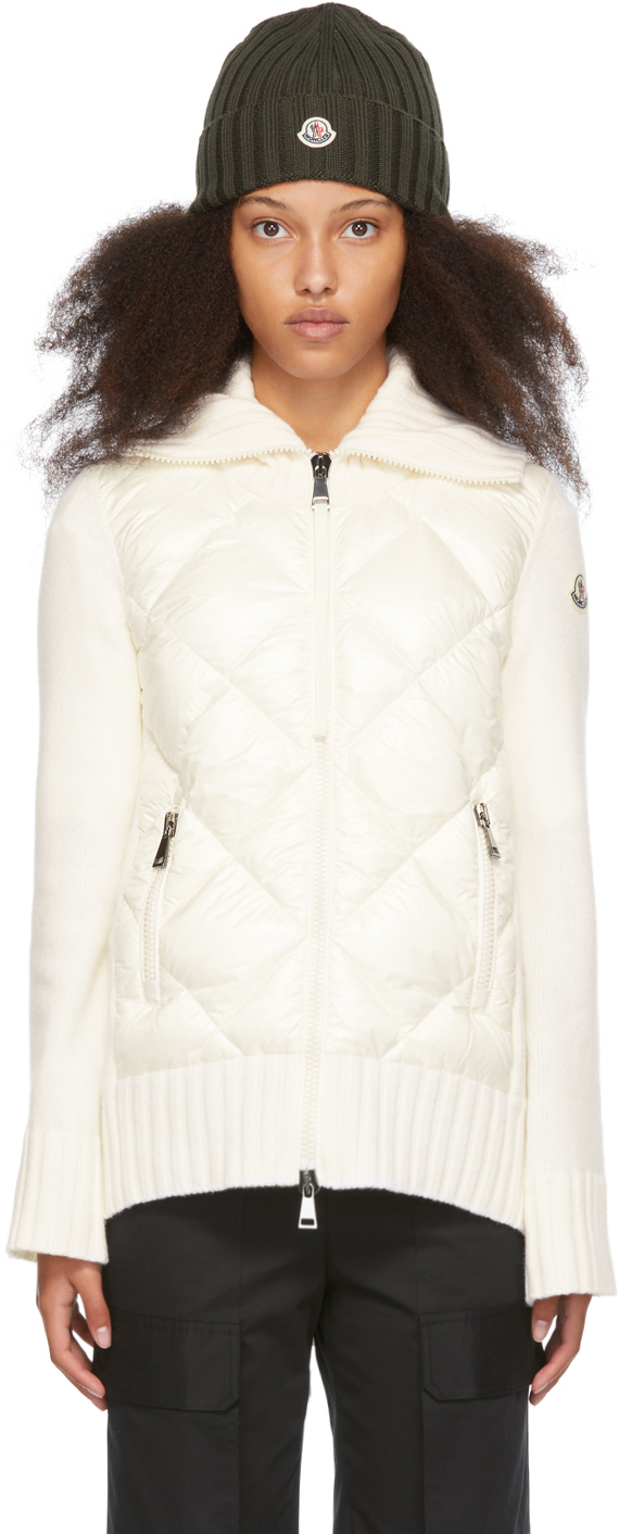 Off-White Down Diamond Quilted Jacket