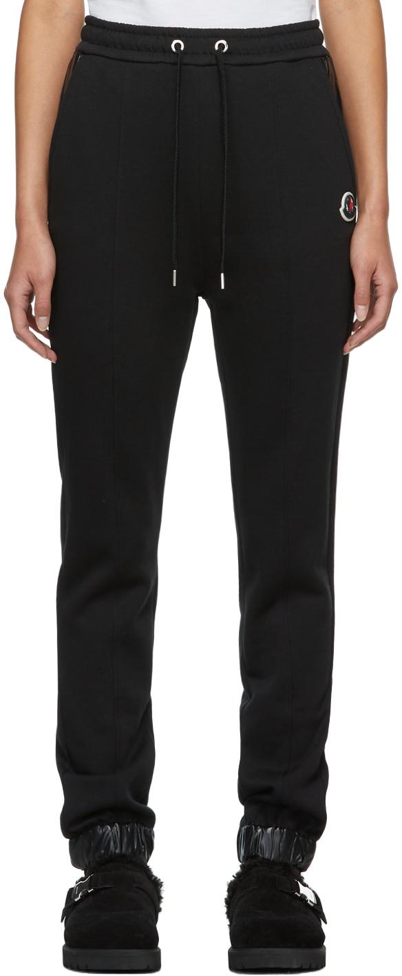Black Drawcord Lounge Pants