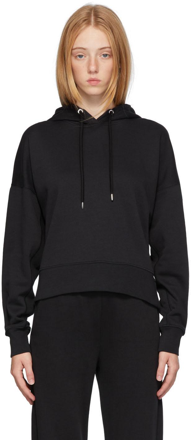 Moncler Black Back Logo Hoodie