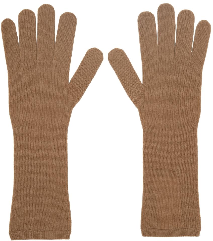 Tan Cashmere Gloves