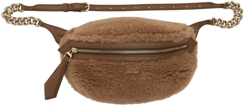 Brown Chain Link Pouch
