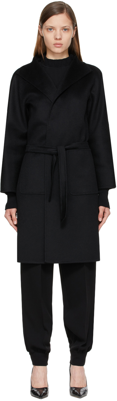Black Lilia Coat