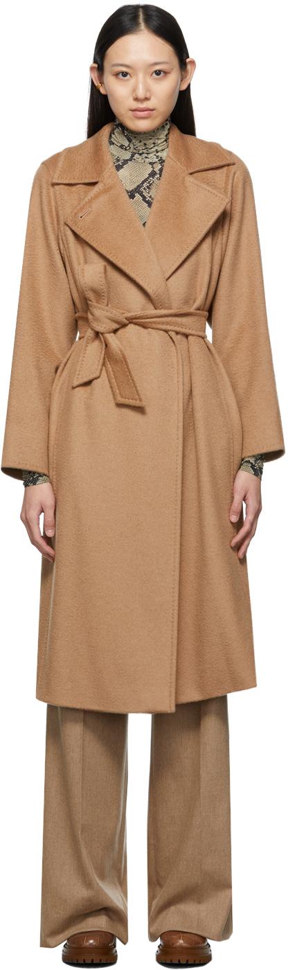 Tan Manuela Icon Coat