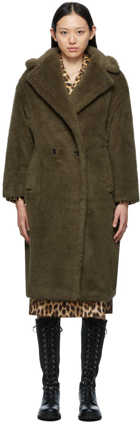Khaki Teddy Bear Icon Coat