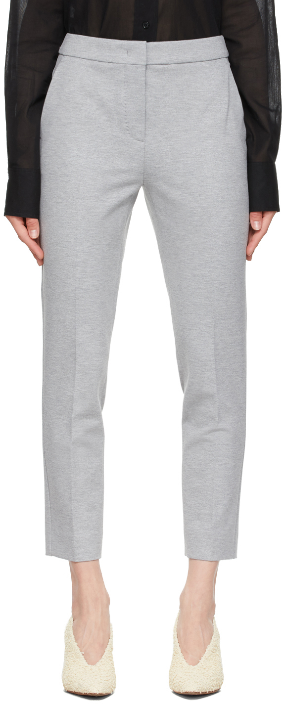 Grey Pegno Trousers