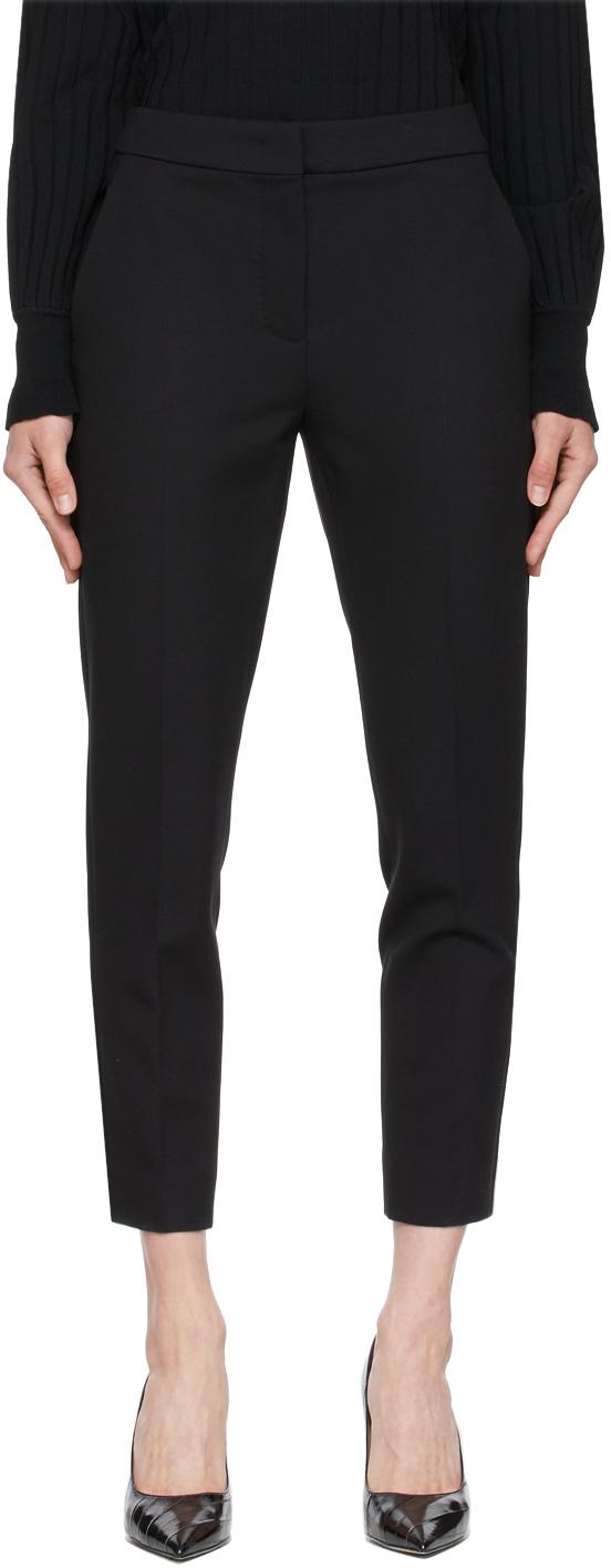Black Pegno Trousers