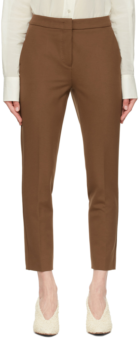 Brown Pegno Trousers
