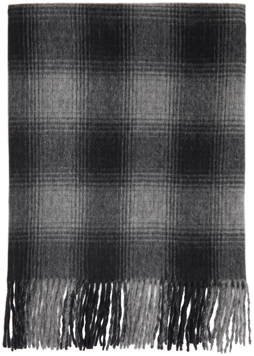 Black Over Stall Scarf