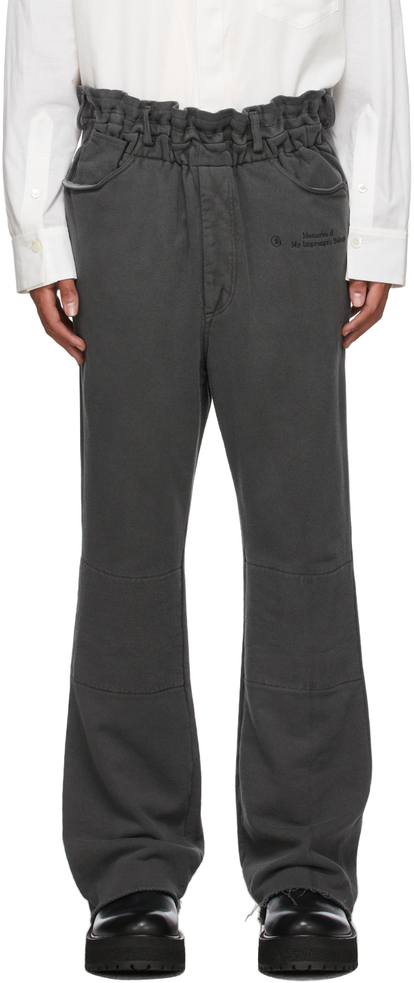 Grey Relaxed Lounge Pants