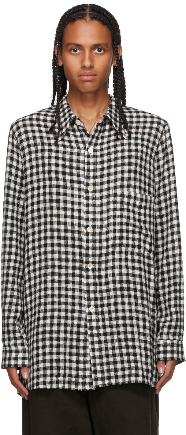 Black & White Check Shirt