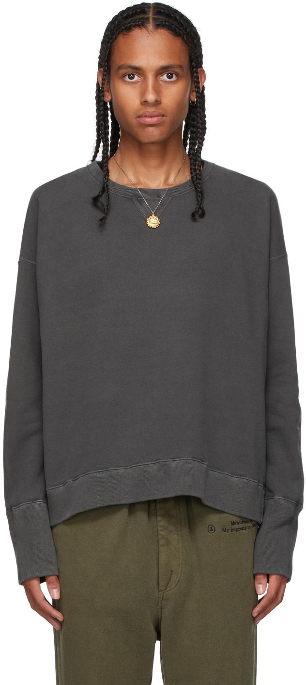 Grey French Terry Sweatshirt