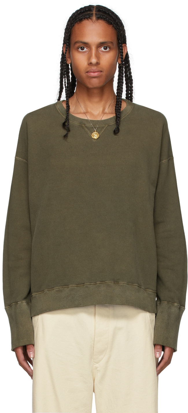Khaki French Terry Sweatshirt