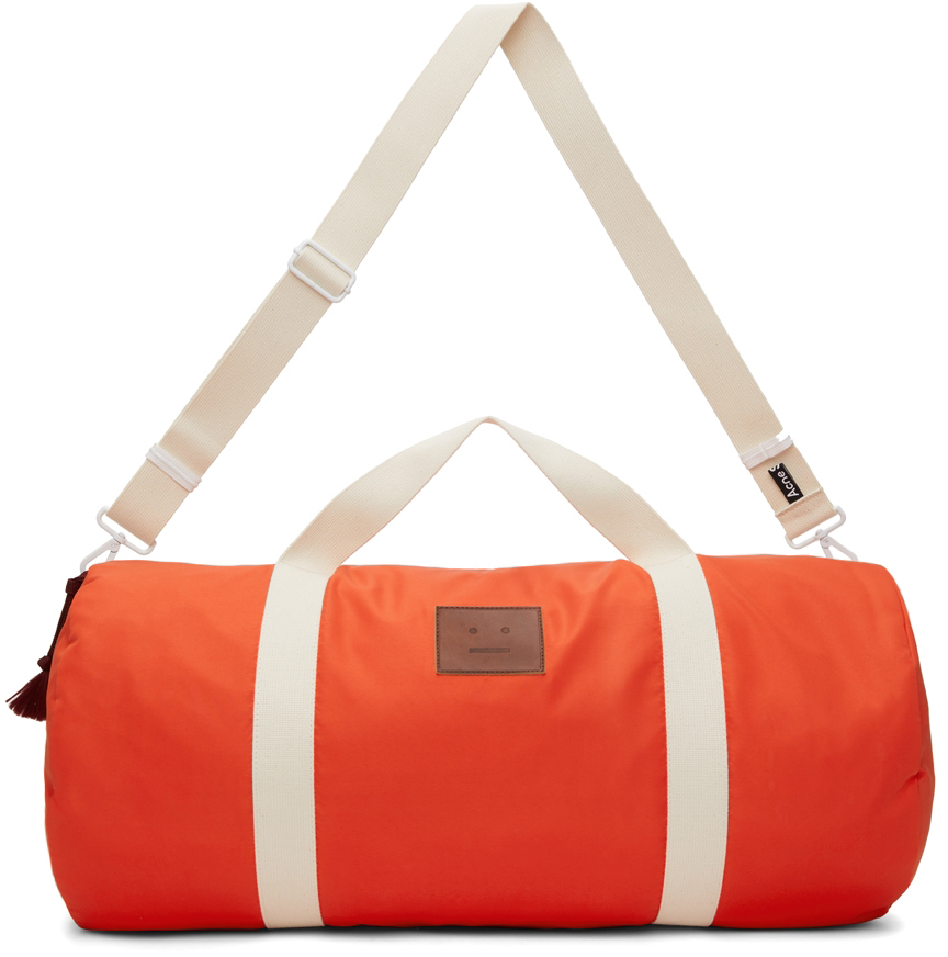 Orange Arataki Face Duffle Bag