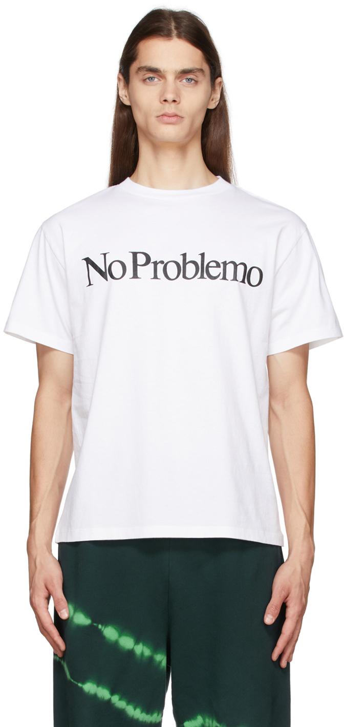 White 'No Problemo' T-Shirt