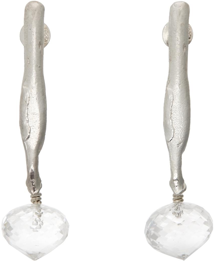 Silver 'The Cosmic Evidence' Earrings