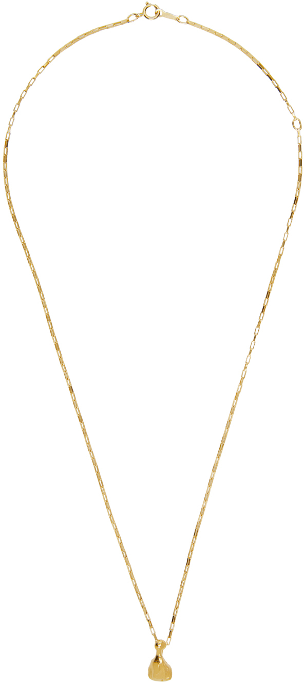 Gold 'The Silhouette Of Desire' Necklace