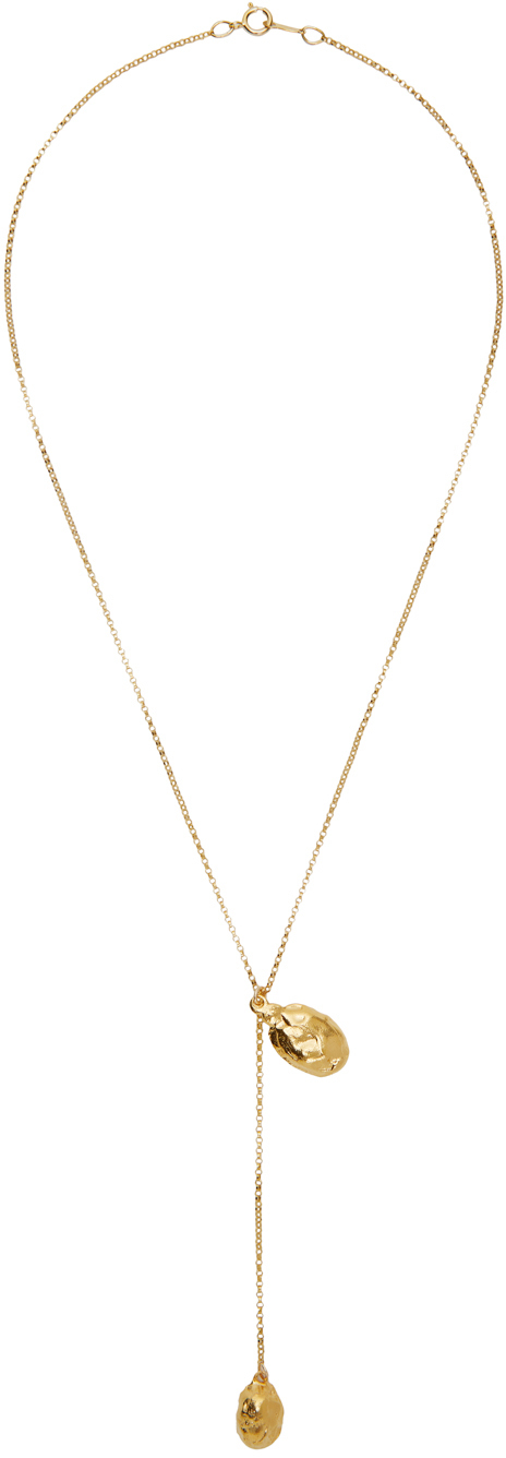 Gold 'The Lunar Rocks' Necklace