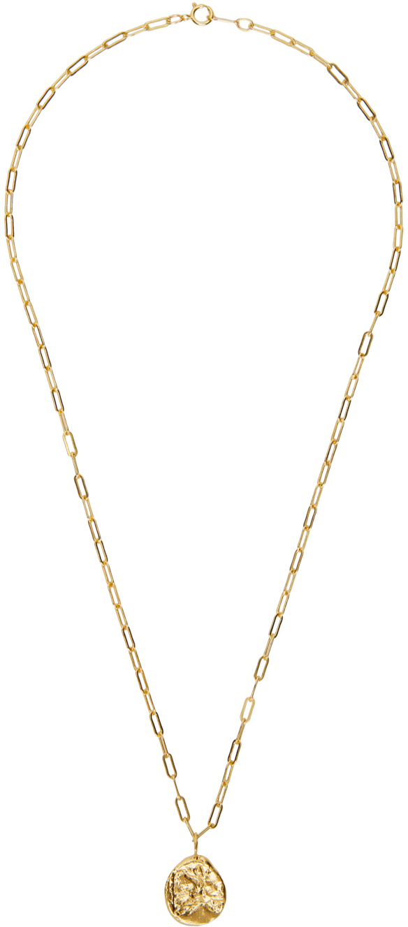 Gold 'The Minerva' Necklace