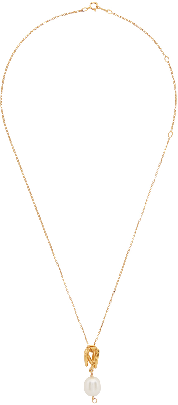 Gold 'The Human Nature' Necklace
