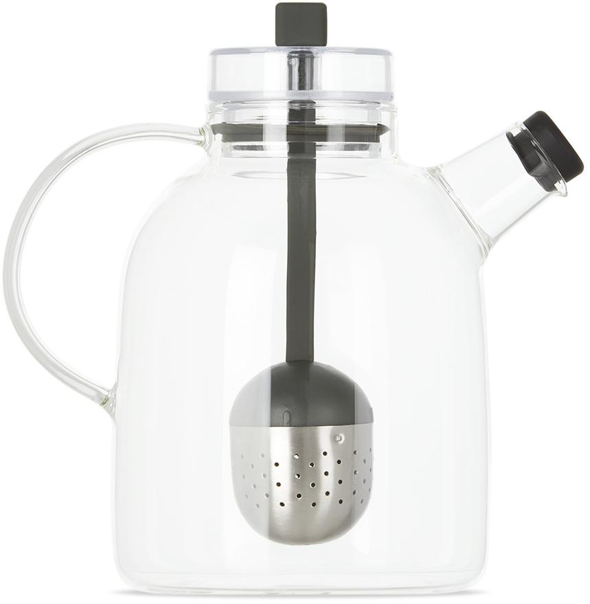 Large Glass Kettle Teapot