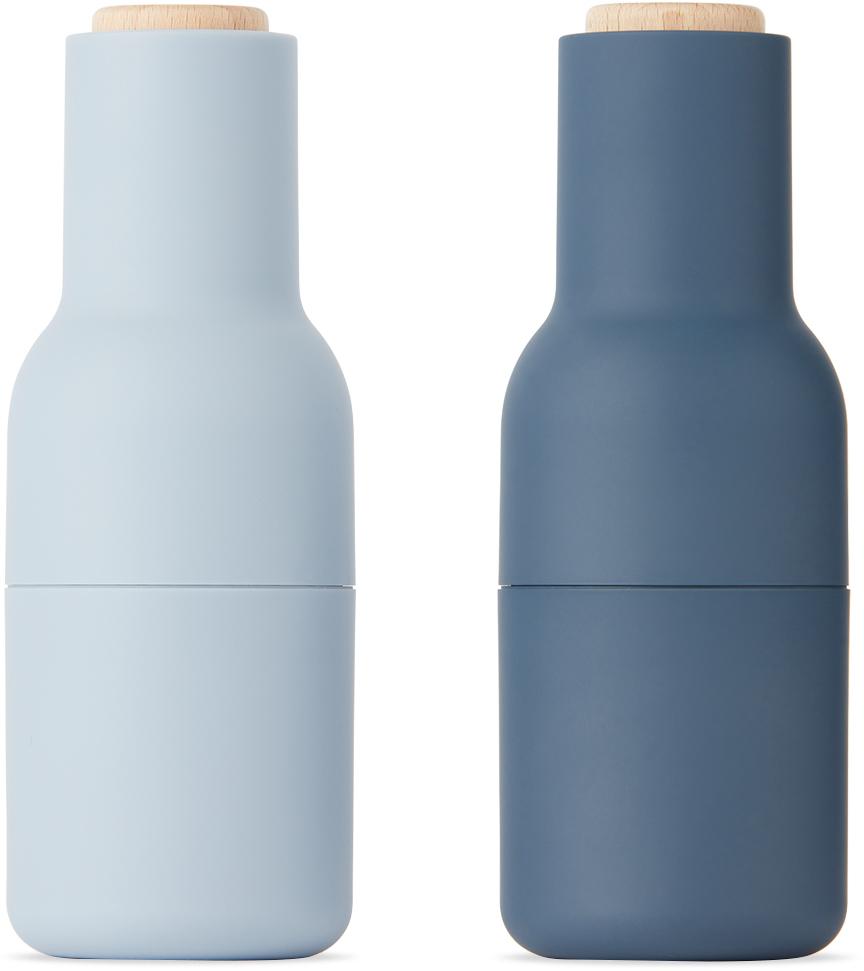 Blue & Navy Bottle Grinders